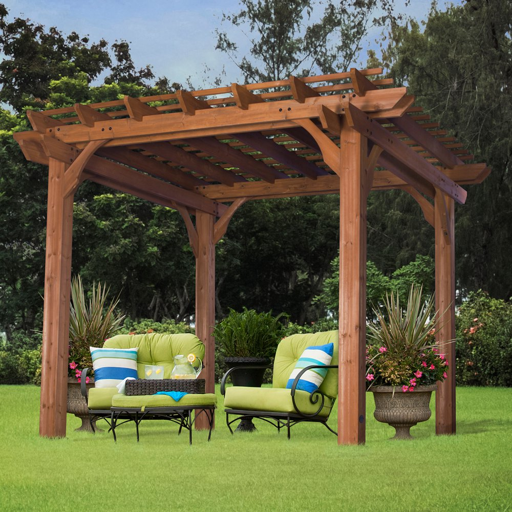 Image of: Style Front Porch Pergola