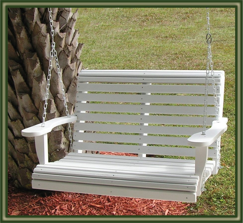 Image of: Swing Hanging Porch Chair