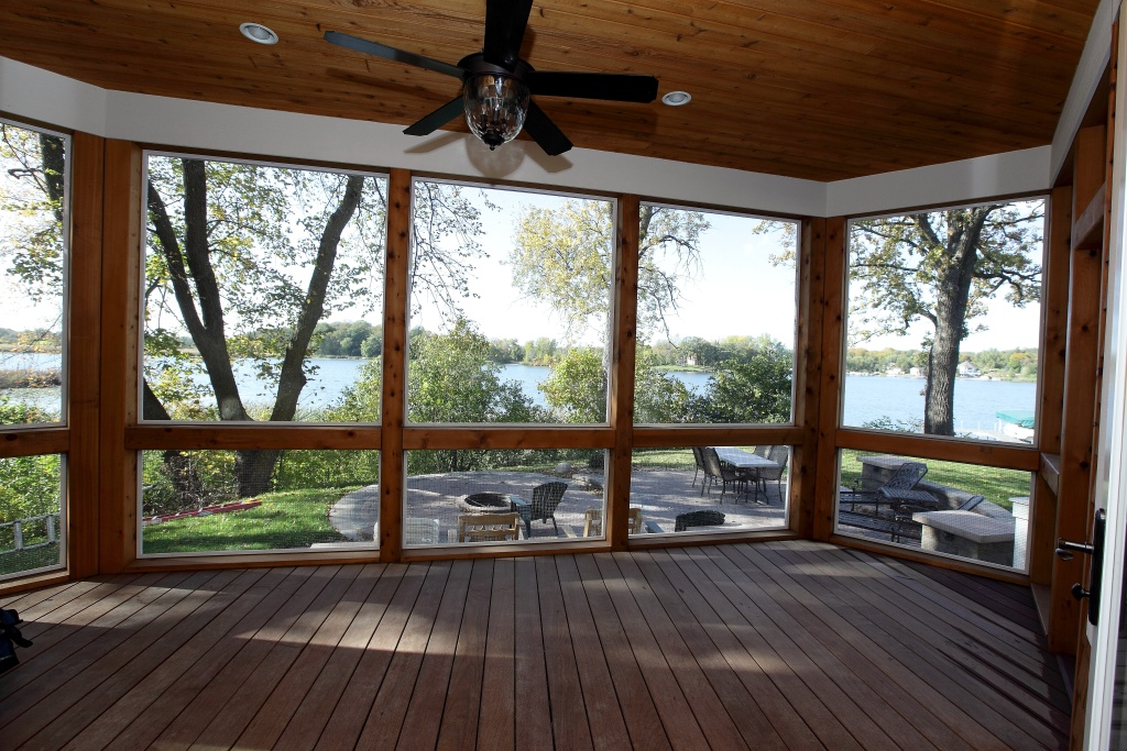 Image of: Three Season Porch Floor