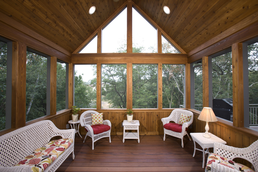 Image of: Three Season Porch Wood