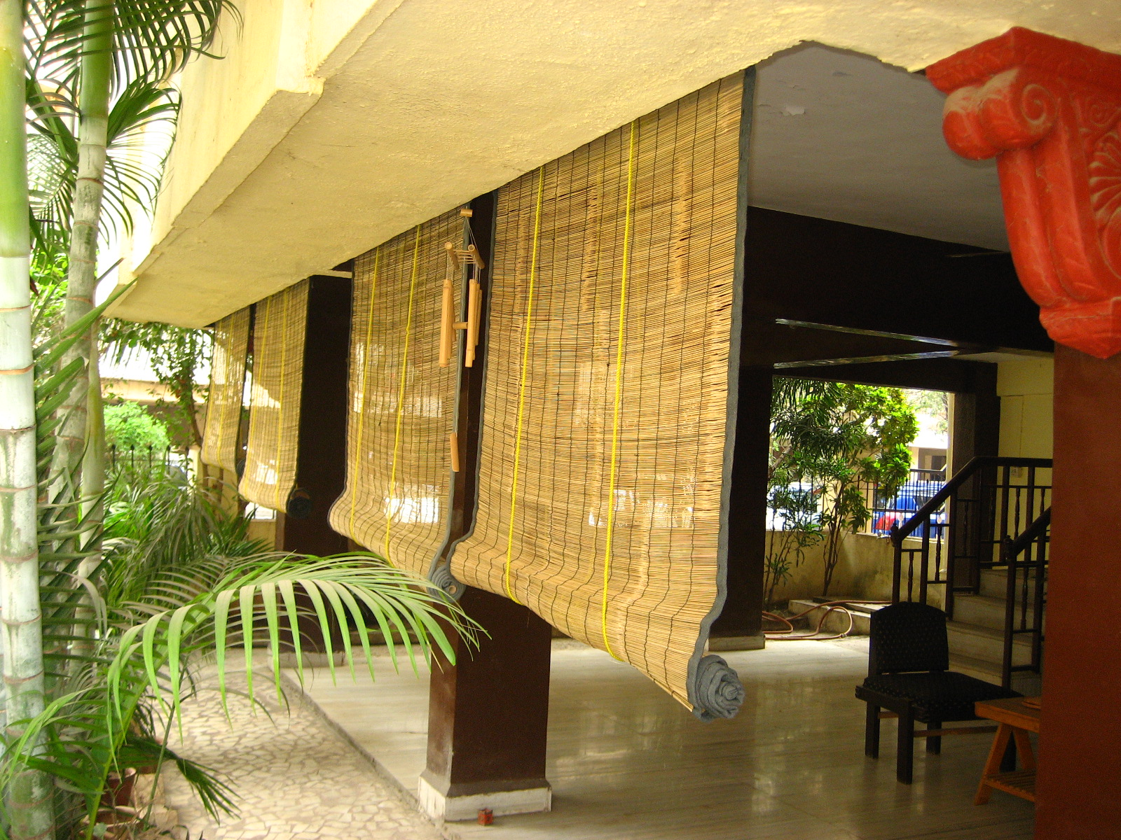 Top Bamboo Porch Shades
