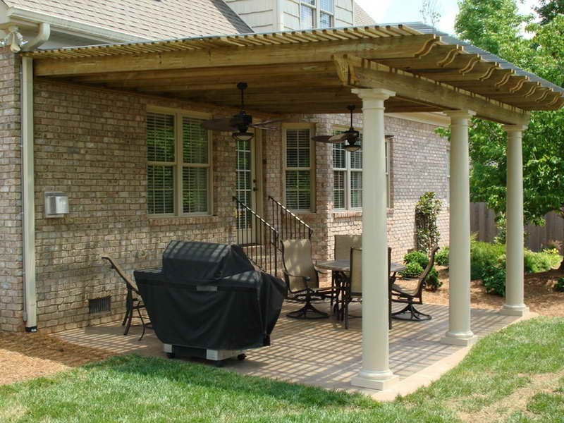 Image of: Top Covered Back Porch Ideas Design