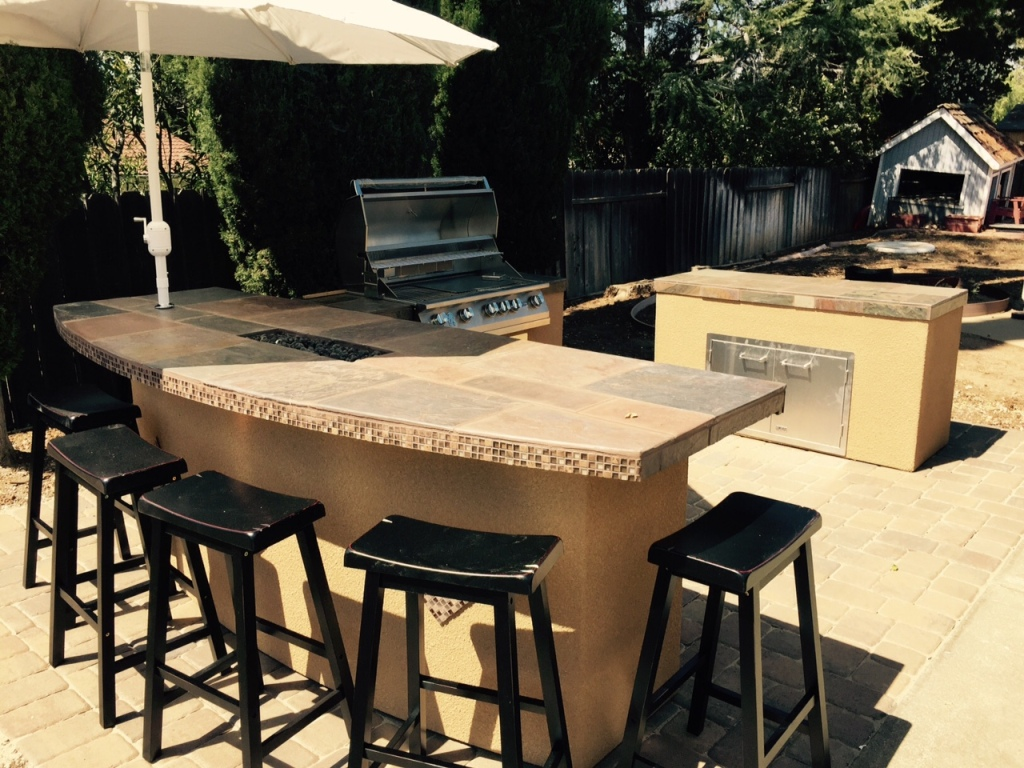 Image of: Top Outdoor Kitchen Fort Lauderdale Design