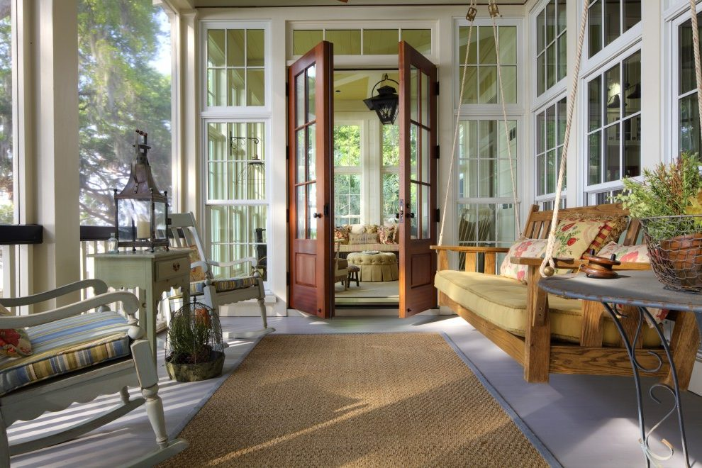 Traditional Acrylic Panels for Screened Porch