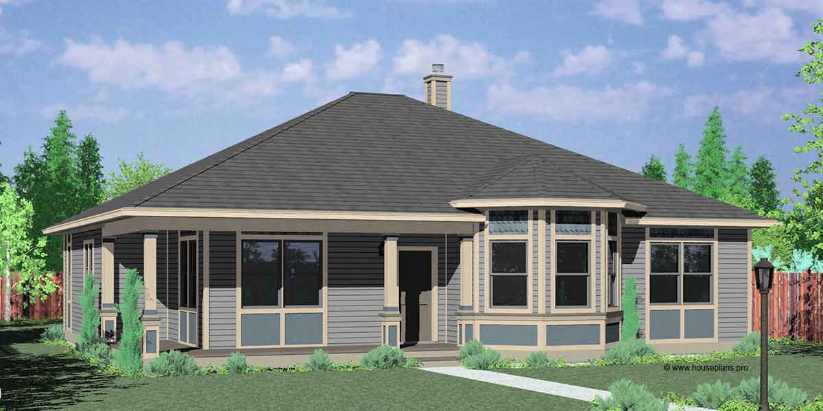 Image of: Victorian One Story House Plans With Wrap Around Porch