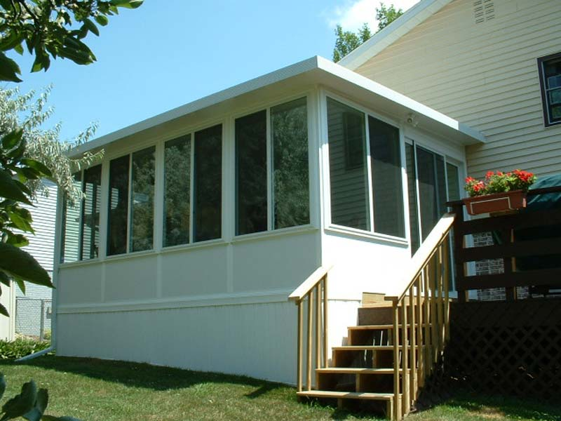 Image of: Vinyl Porch Enclosures DIY
