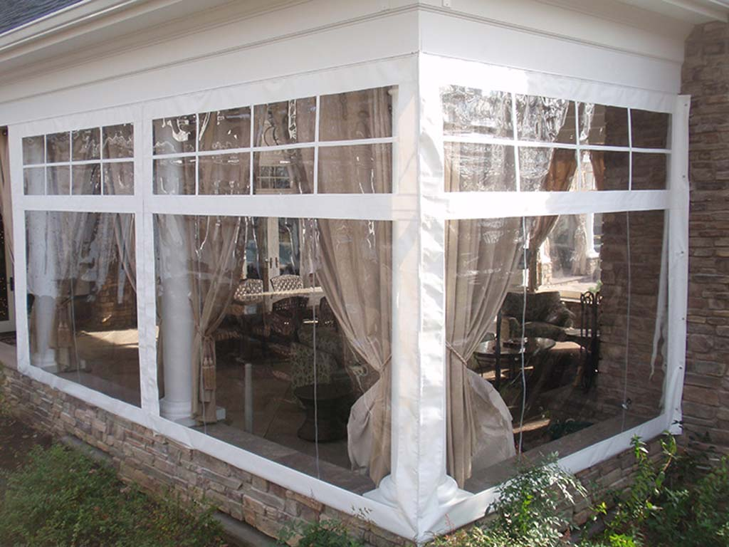Image of: Vinyl Porch Enclosures Patio