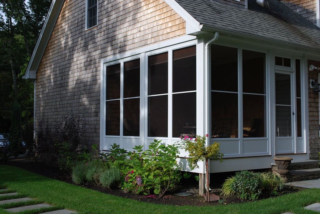 Image of: Vinyl Porch Enclosures Screen