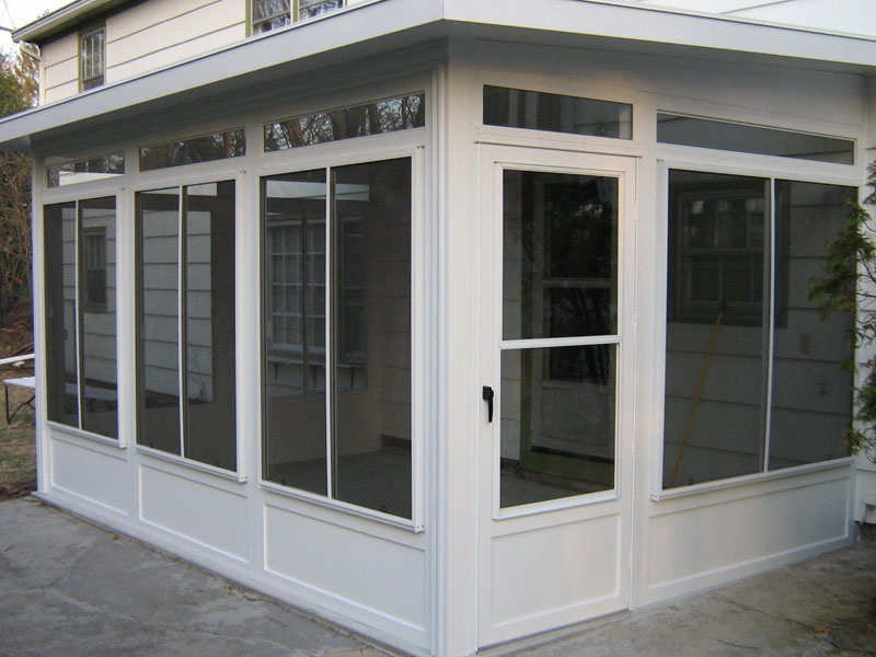 Image of: Vinyl Porch Enclosures Sliding