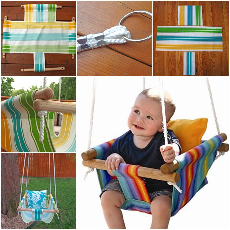 Image of: Wonderful Baby Porch Swing