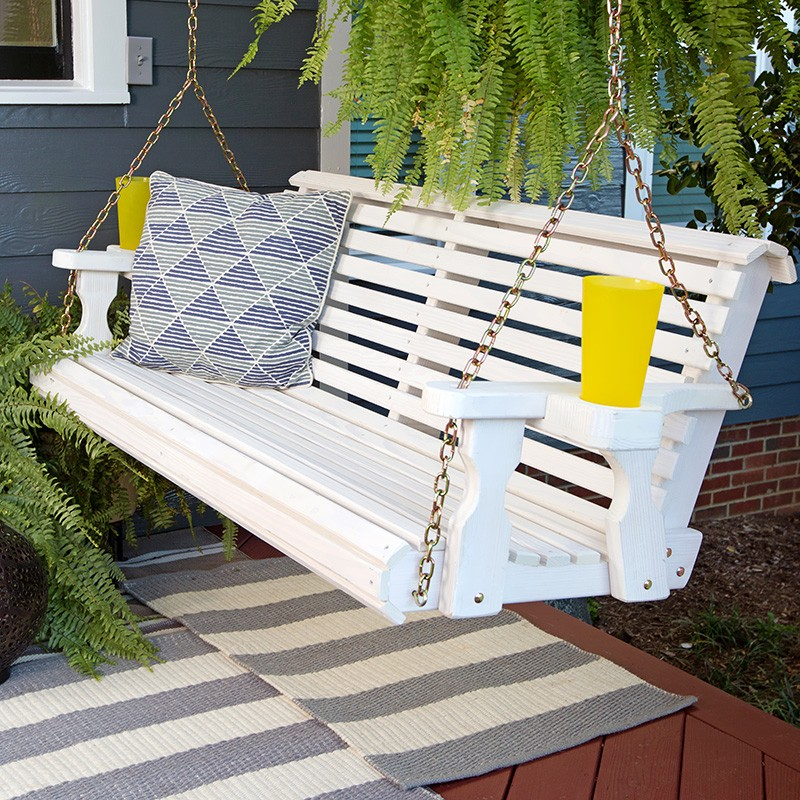 Image of: Wonderful Heavy Duty Porch Swing