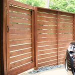 Wooden Front Porch Gate