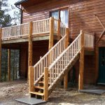 Wooden Handrails for Porch Steps