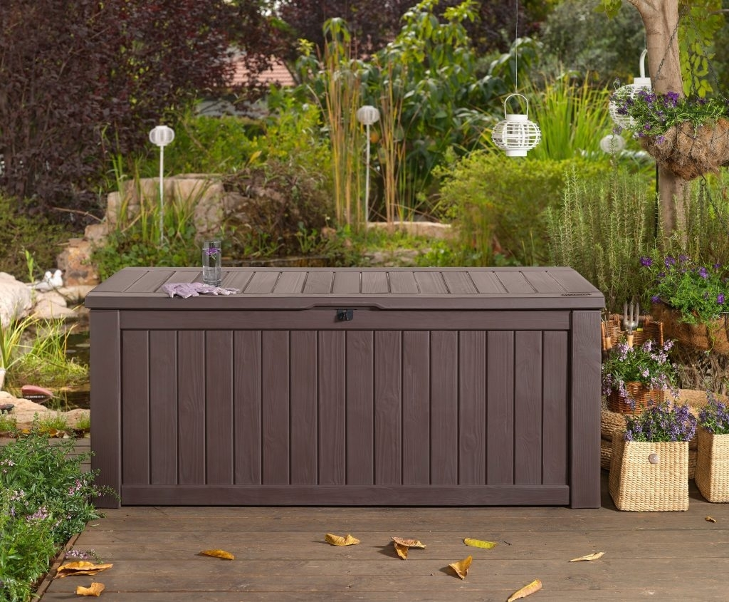 Image of: Bench Outside Storage Bench Regarding Amazing Images About Regarding Outdoor Cushion Storage Bench Classic Outdoor Cushion Storage Bench