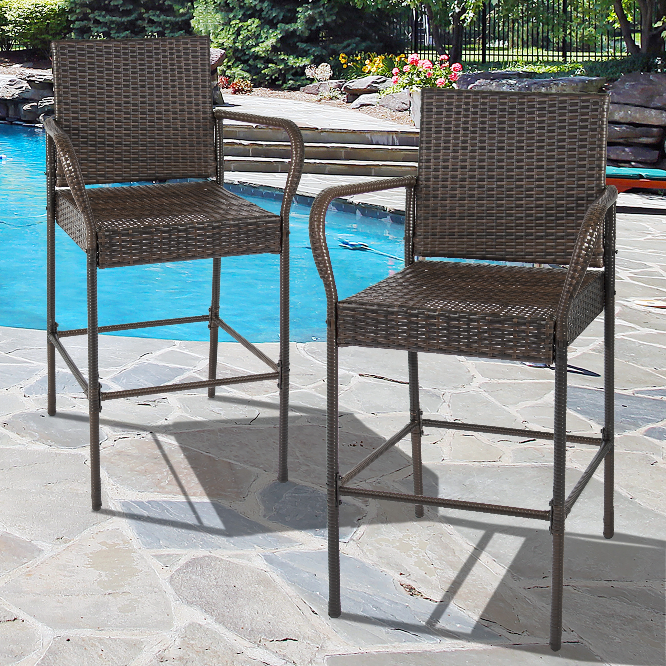 Image of: Best Choice Bar Stool Outdoor Furniture