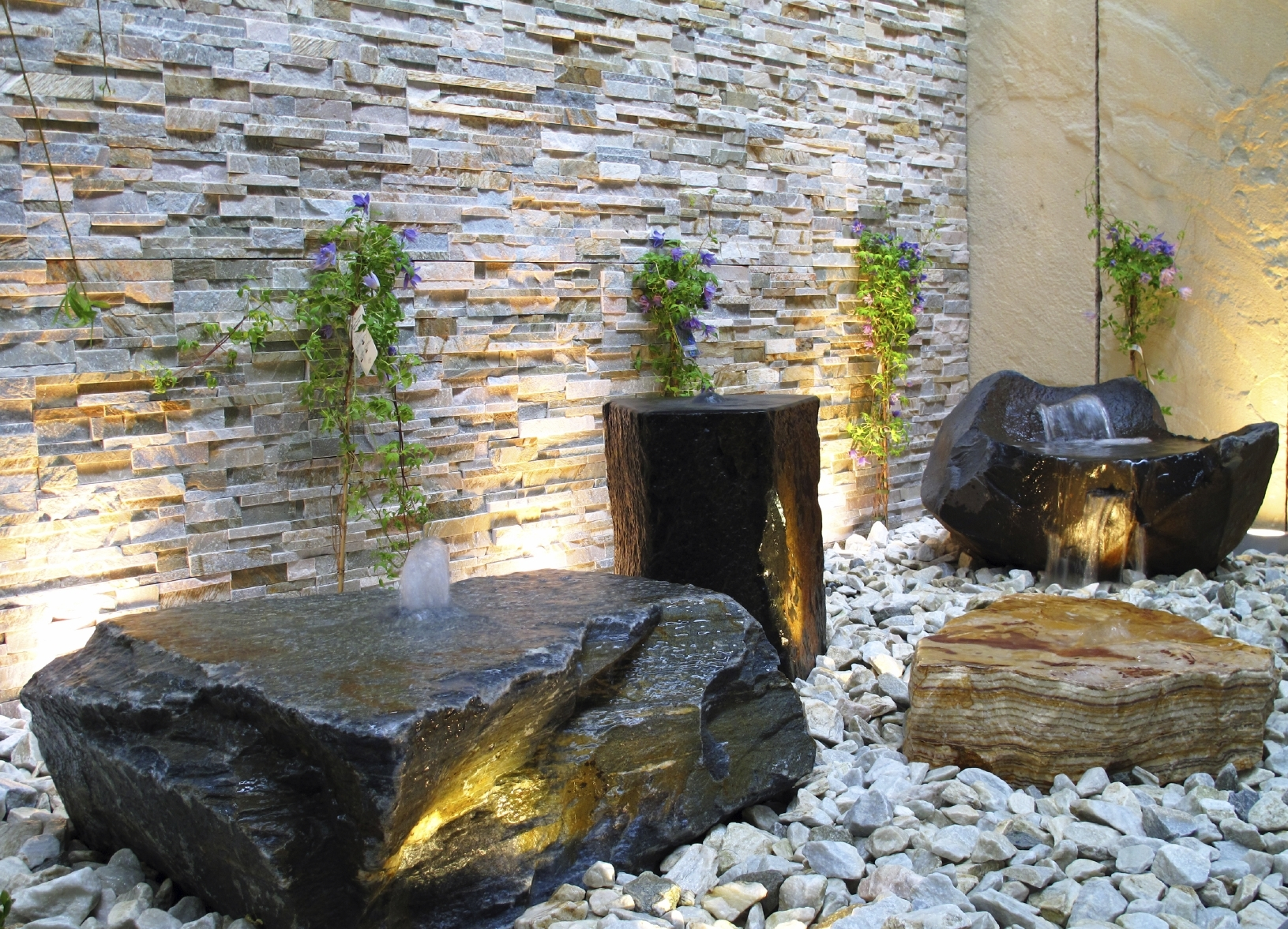 Image of: Best Designs Gallery Creativerockau Inside White Stones Landscaping Beautiful White Stones Landscaping