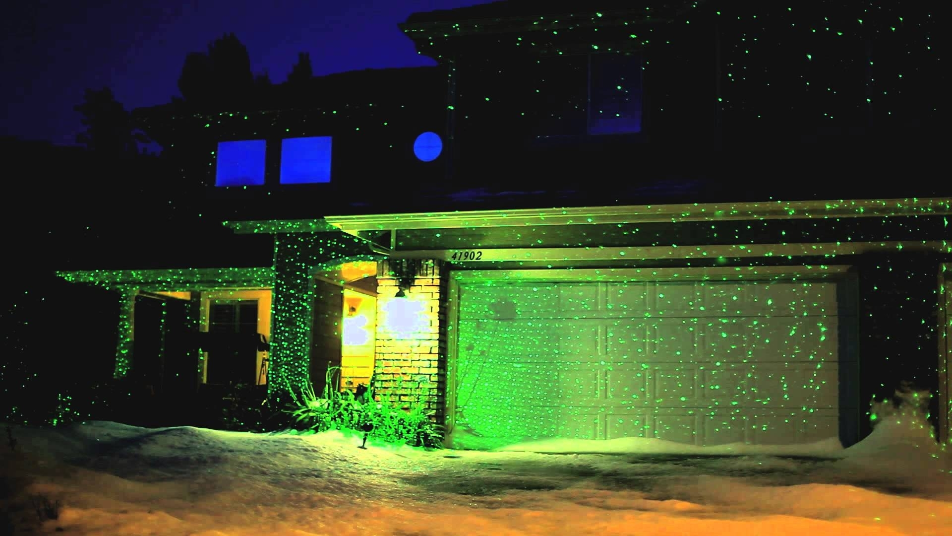 Image of: Blisslights Classic Spright Demonstration Youtube With Landscape Laser Lights Landscape Laser Lights Ideas
