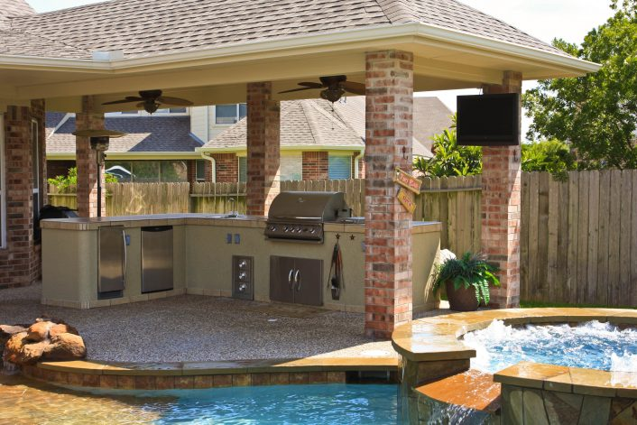 Covered Area Outdoor Kitchen With Pool 2366 Hostelgarden For Outdoor Kitchen With Pool Awesome Home Outdoor Kitchen With Pool