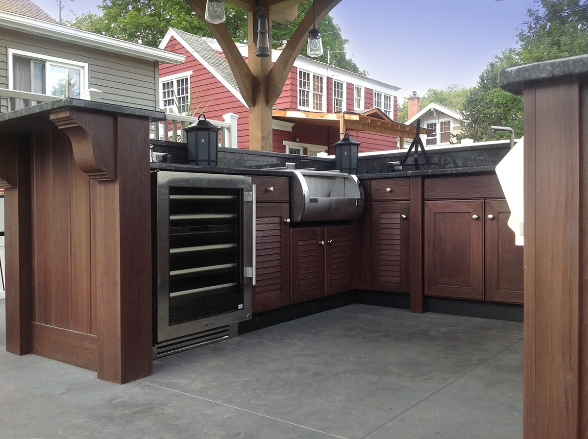 Image of: Custom Outdoor Kitchen Builders Nj Deck Remodelers Nj Pertaining To Outdoor Deck Kitchens Outdoor Deck Kitchens Perfect For All Family