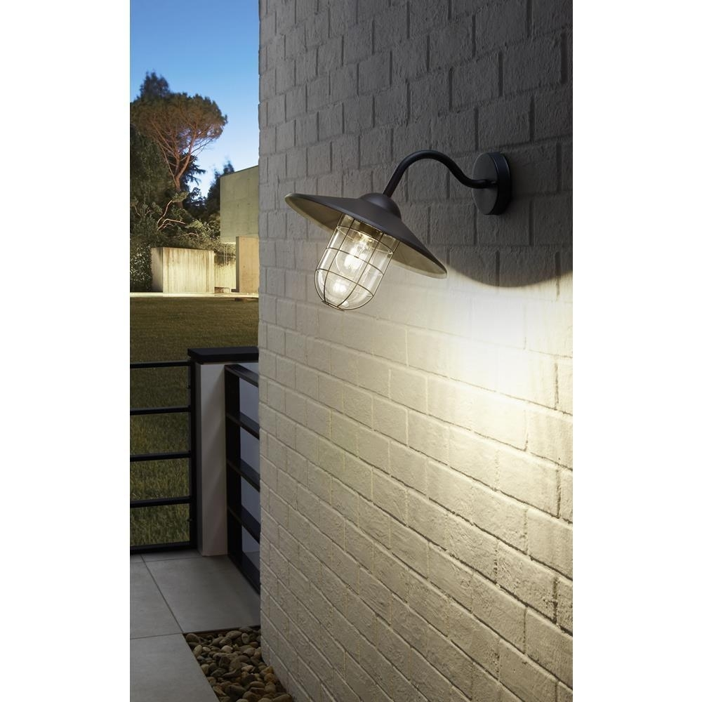 Image of: Eglo 94792 Melgoa Black Outdoor Traditional Down Lantern Wall Within Traditional Outdoor Wall Lights Traditional Outdoor Wall Lights