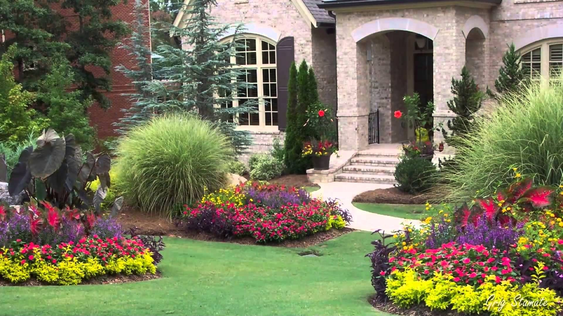 Image of: Front Yard Flowers Improve Your Homes Curb Appeal Youtube Throughout Curb Appeal Landscaping Curb Appeal Landscaping Ideas