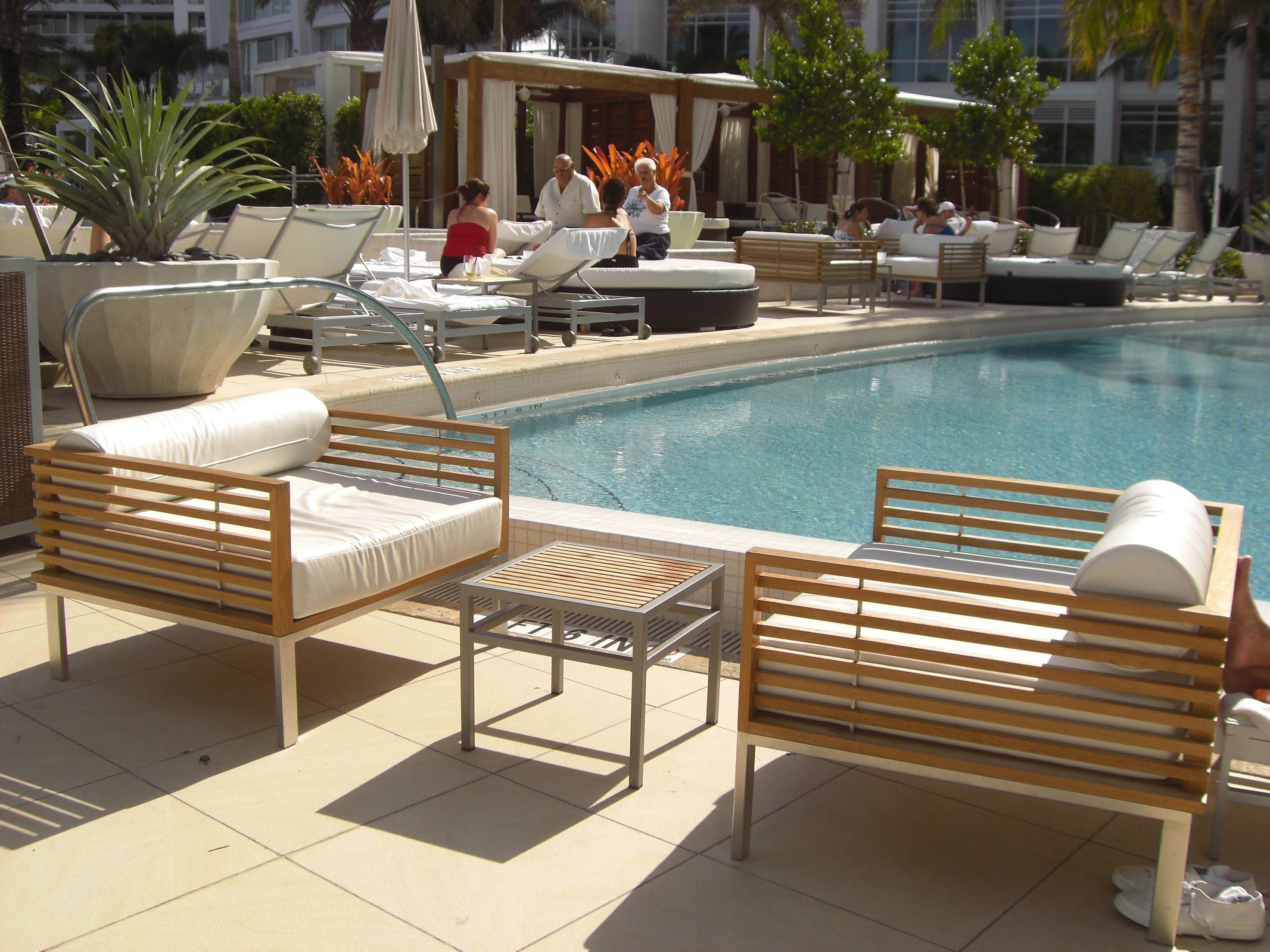Image of: Furniture Outdoor Pool Furniture Jydesign Marvellous Commercial Throughout Commercial Outdoor Pool Furniture Good Commercial Outdoor Pool Furniture