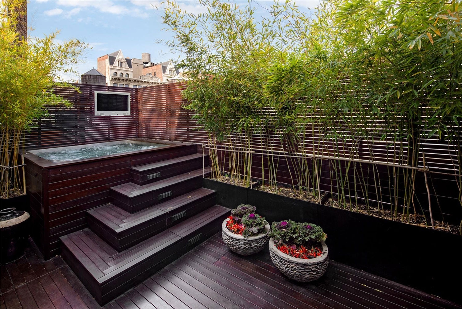 Image of: Garden Design Garden Design With Great Tips For Deck Privacy For Bamboo Landscaping Bamboo Landscaping As A Plant