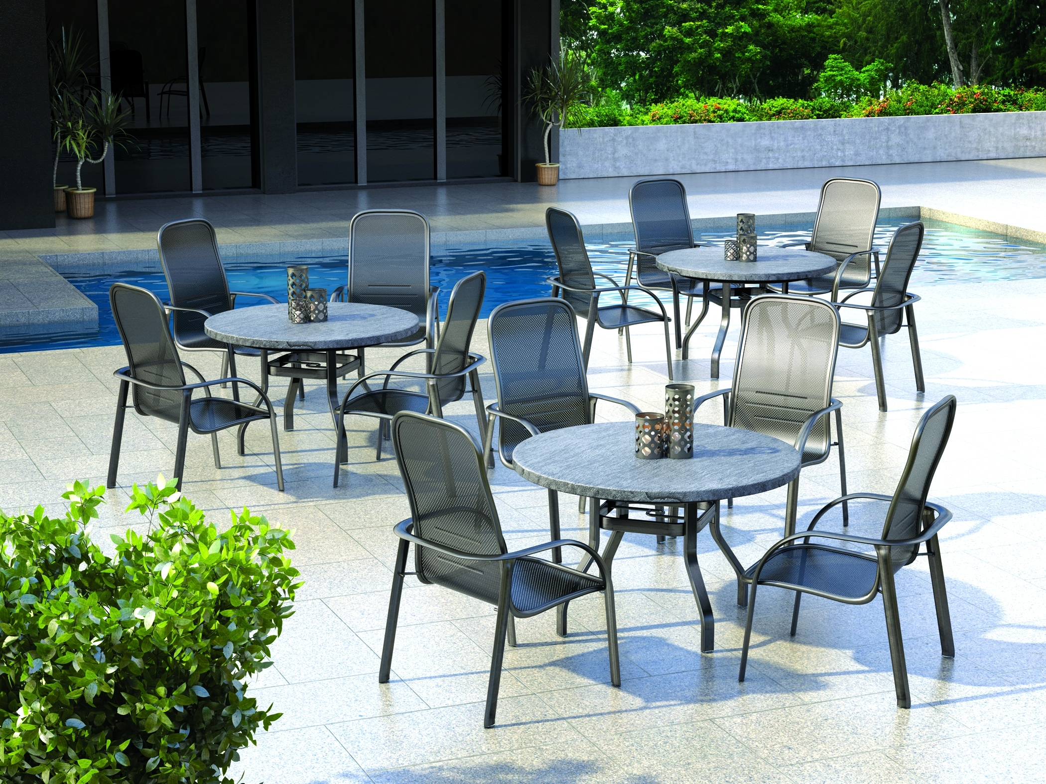 Image of: Homecrest Outdoor Hospitality Furniture