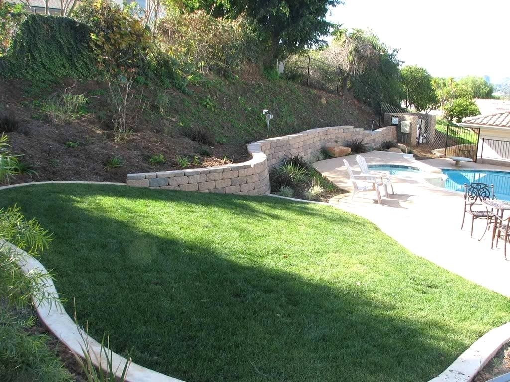 Landscape Ideas For Backyard Hills The Garden Inspirations Pertaining To Landscaping Ideas For Hills Wonderful Landscaping Ideas For Hills
