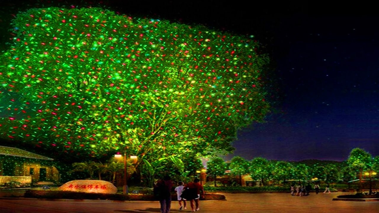Image of: Laser Christmas Lights Outdoor Holiday Projectors Youtube With Regard To Landscape Laser Lights Landscape Laser Lights Ideas