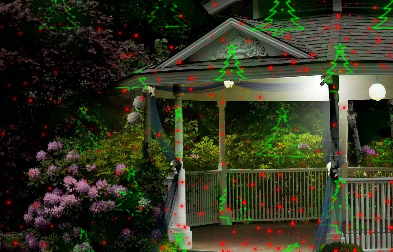 Image of: Laser Lights Accessories Indooroutdoor Night Stars Inside Landscape Laser Lights Landscape Laser Lights Ideas