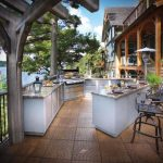 Optimizing An Outdoor Kitchen Layout Hgtv With Regard To Outdoor Deck Kitchens Outdoor Deck Kitchens Perfect For All Family