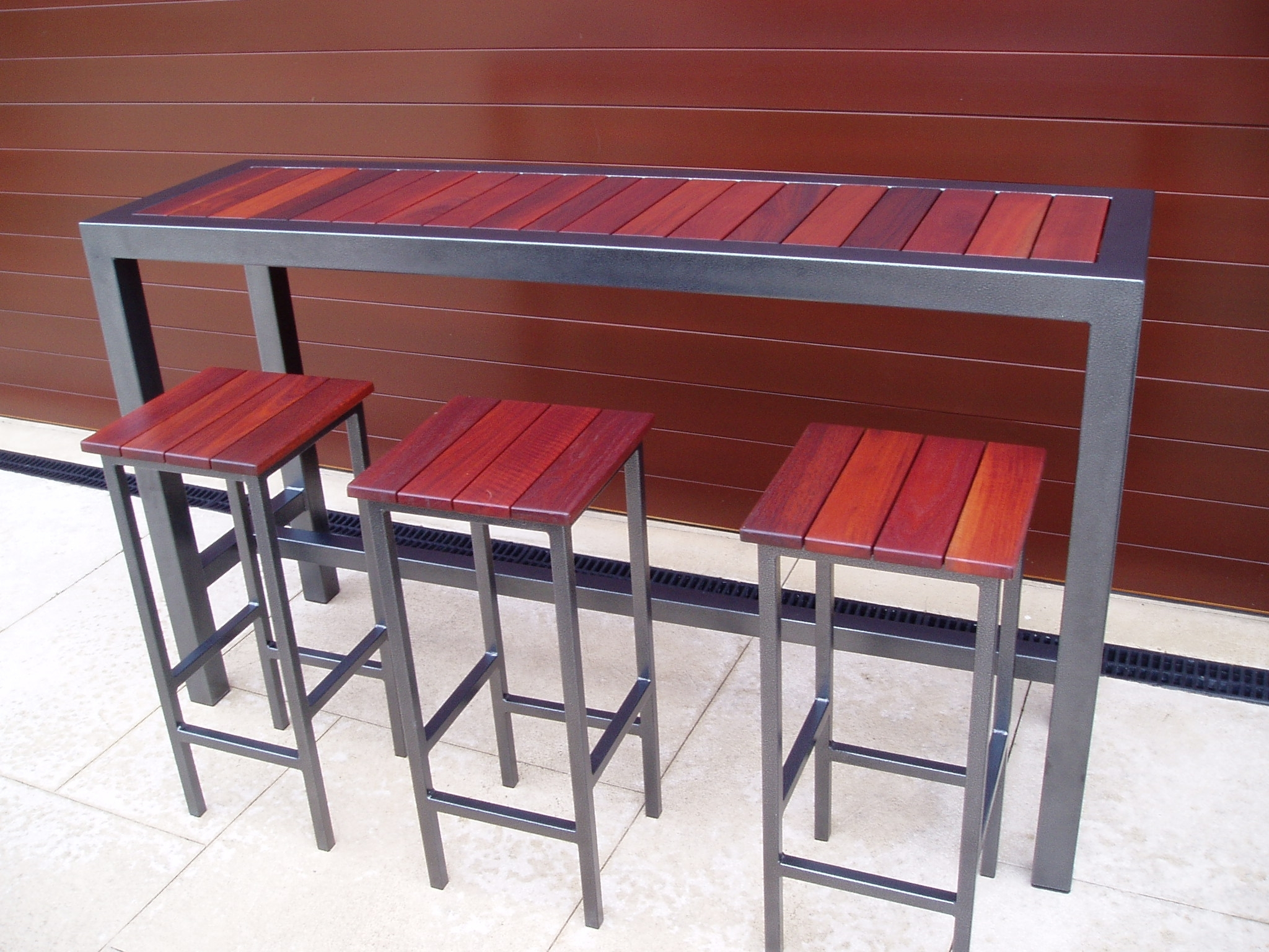 Image of: Outdoor Bar Stools And Tables Throughout Bar Stool Outdoor Furniture Enjoy The Summer With Bar Stool Outdoor Furniture