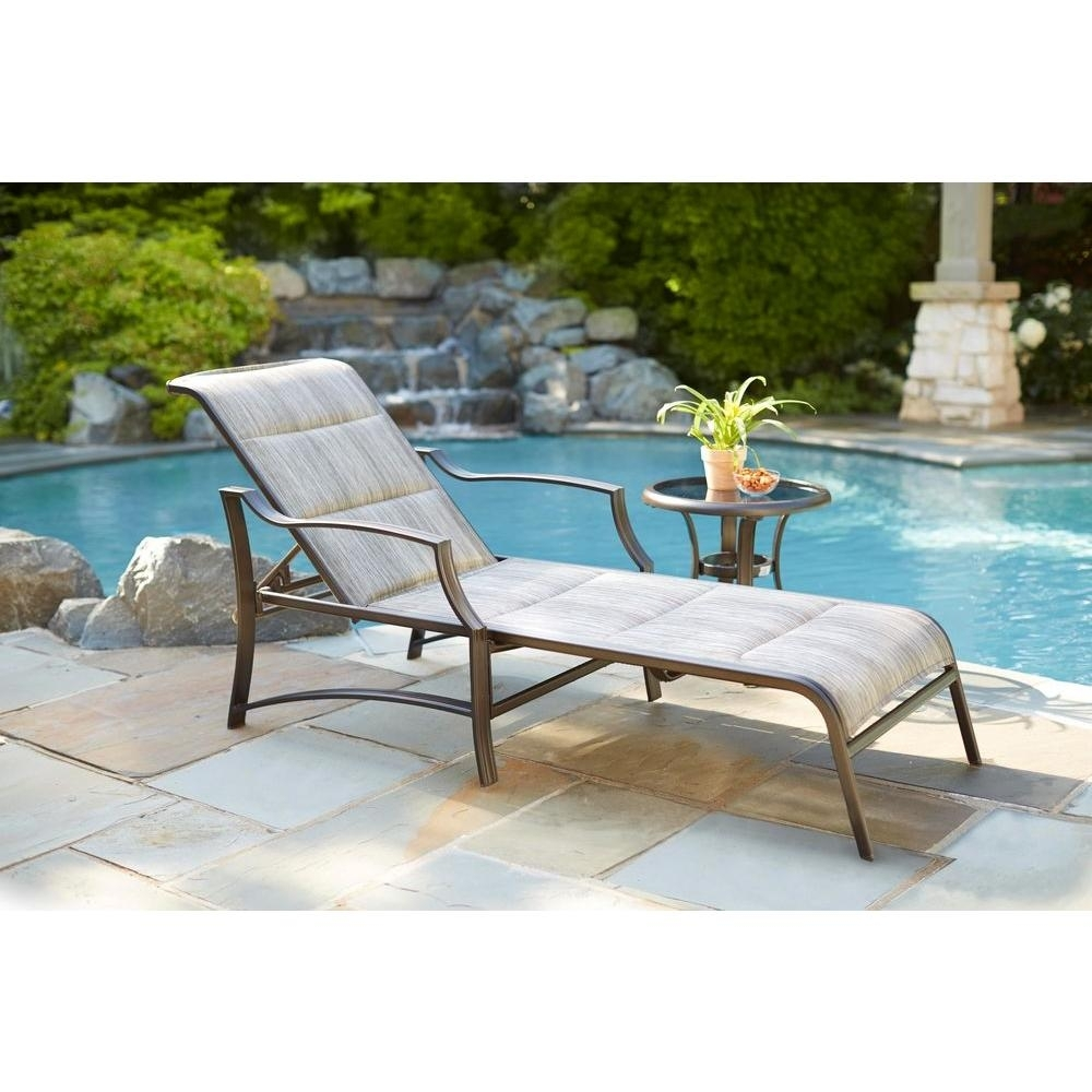 Image of: Outdoor Chaise Lounges Patio Chairs The Home Depot Regarding Commercial Outdoor Pool Furniture Good Commercial Outdoor Pool Furniture