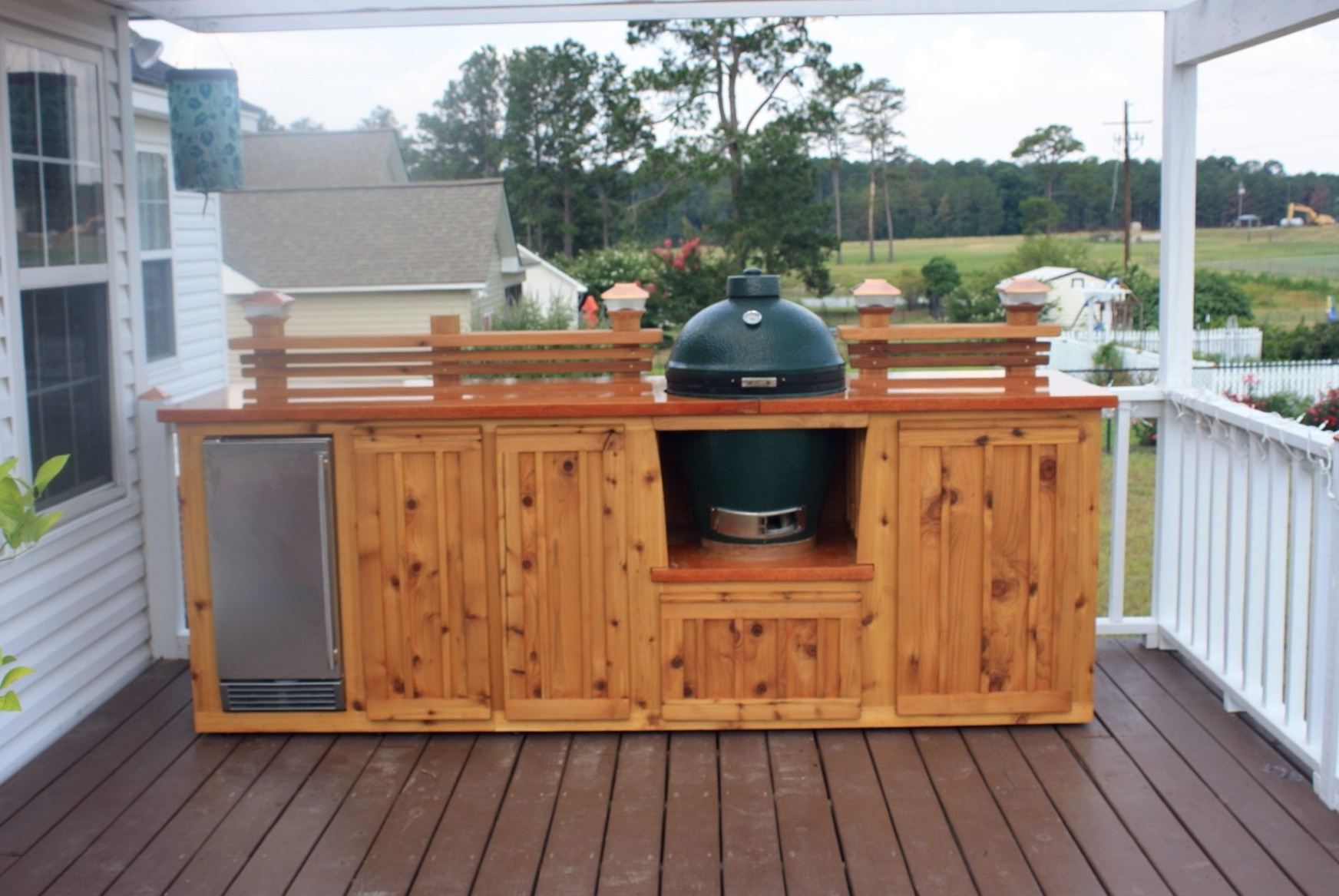 Image of: Outdoor Deck Kitchen Kitchen Decor Design Ideas Intended For Outdoor Deck Kitchens Outdoor Deck Kitchens Perfect For All Family