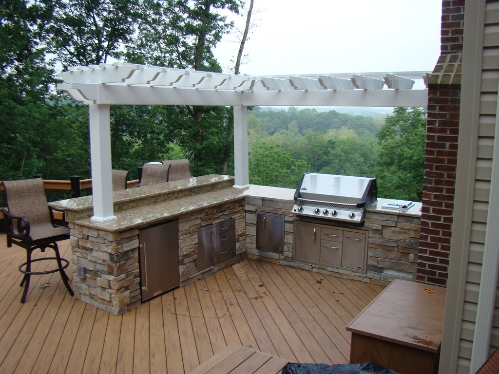Image of: Outdoor Deck Kitchens Regarding Outdoor Deck Kitchens Outdoor Deck Kitchens Perfect For All Family