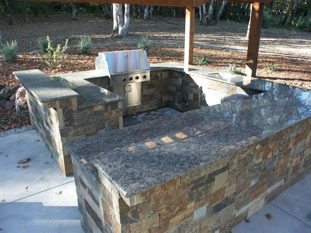 Image of: Outdoor Kitchen Gallery Outdoor Kitchens In Sonoma County Regarding Outdoor Kitchen Granite Countertops Outdoor Kitchen Granite Countertops Design