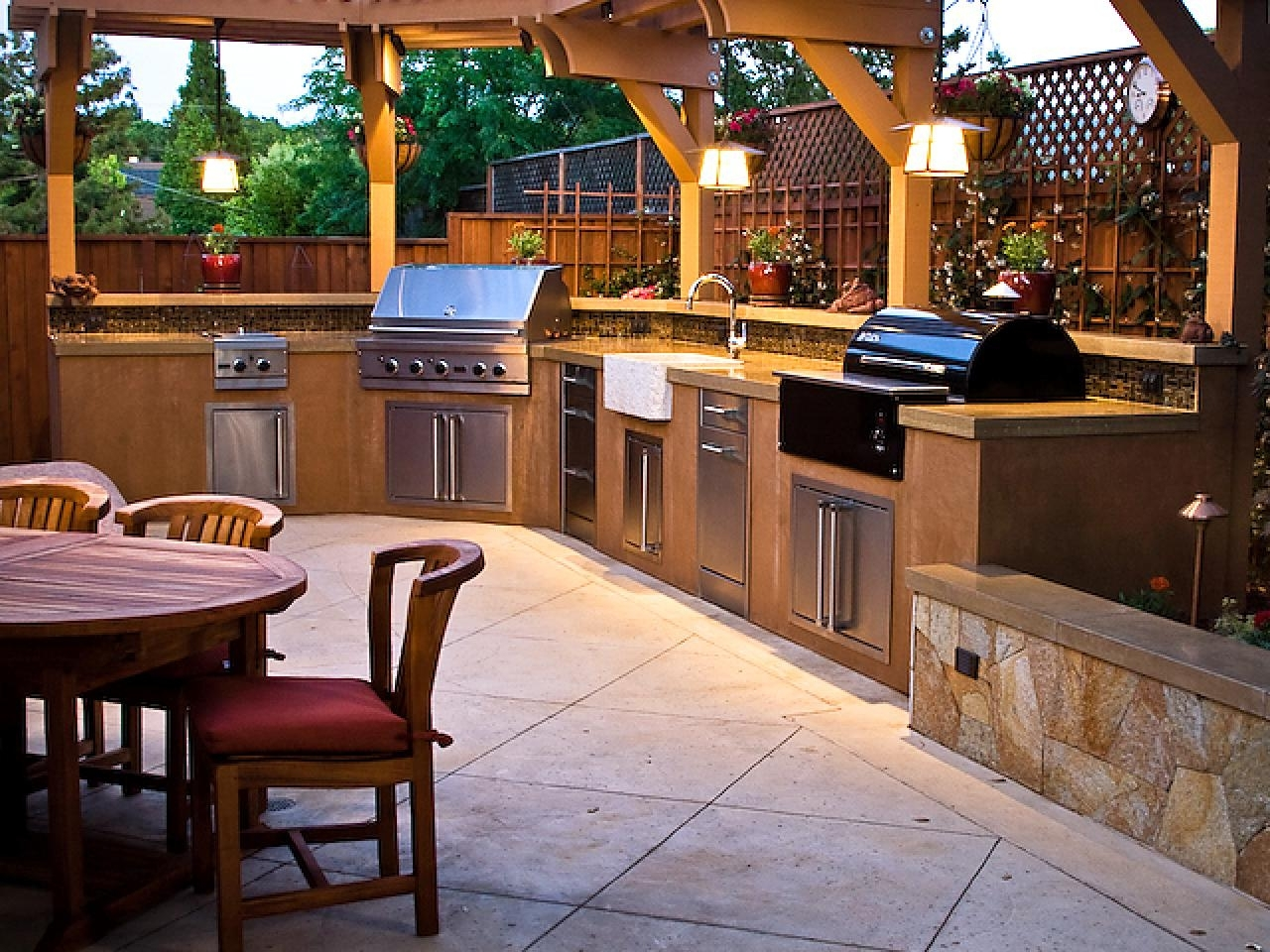 Image of: Outdoor Kitchens Images Outside Kitchens Ideas Home Furniture Pertaining To Outdoor Deck Kitchens Outdoor Deck Kitchens Perfect For All Family