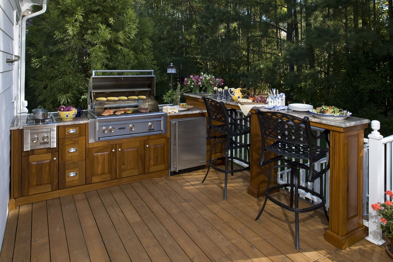 Image of: Outdoor Kitchens San Diego Deck Builders With Outdoor Deck Kitchens Outdoor Deck Kitchens Perfect For All Family