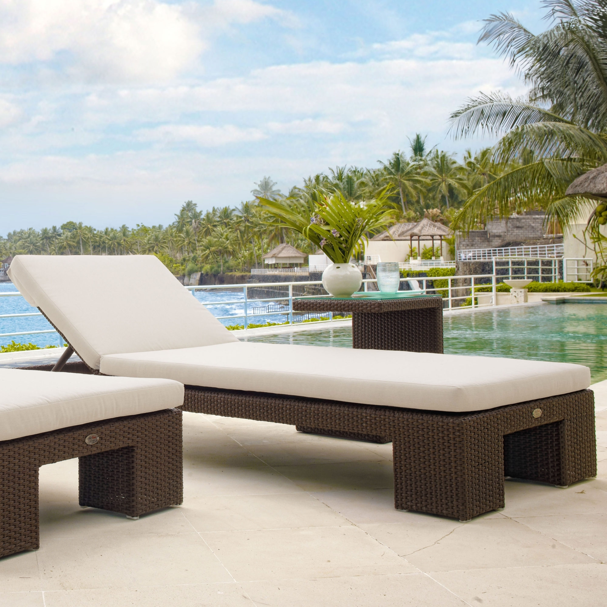 Image of: Pacific Double Outdoor Hospitality Furniture