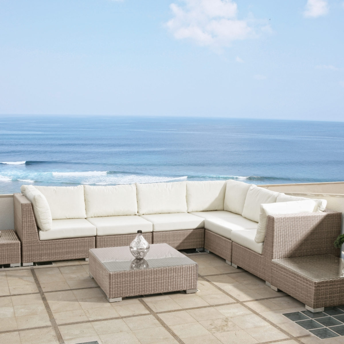 Commercial Sectional Modular Couture Outdoor Hospitality Furniture