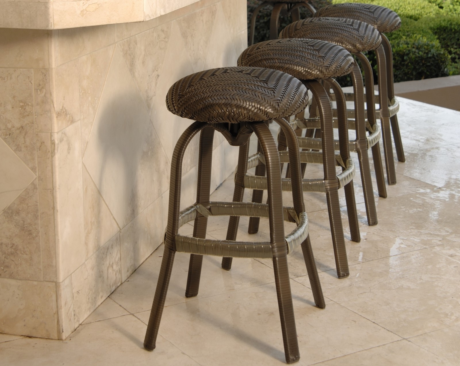 Image of: Patio Furniture Bar Stool Outdoor Furniture