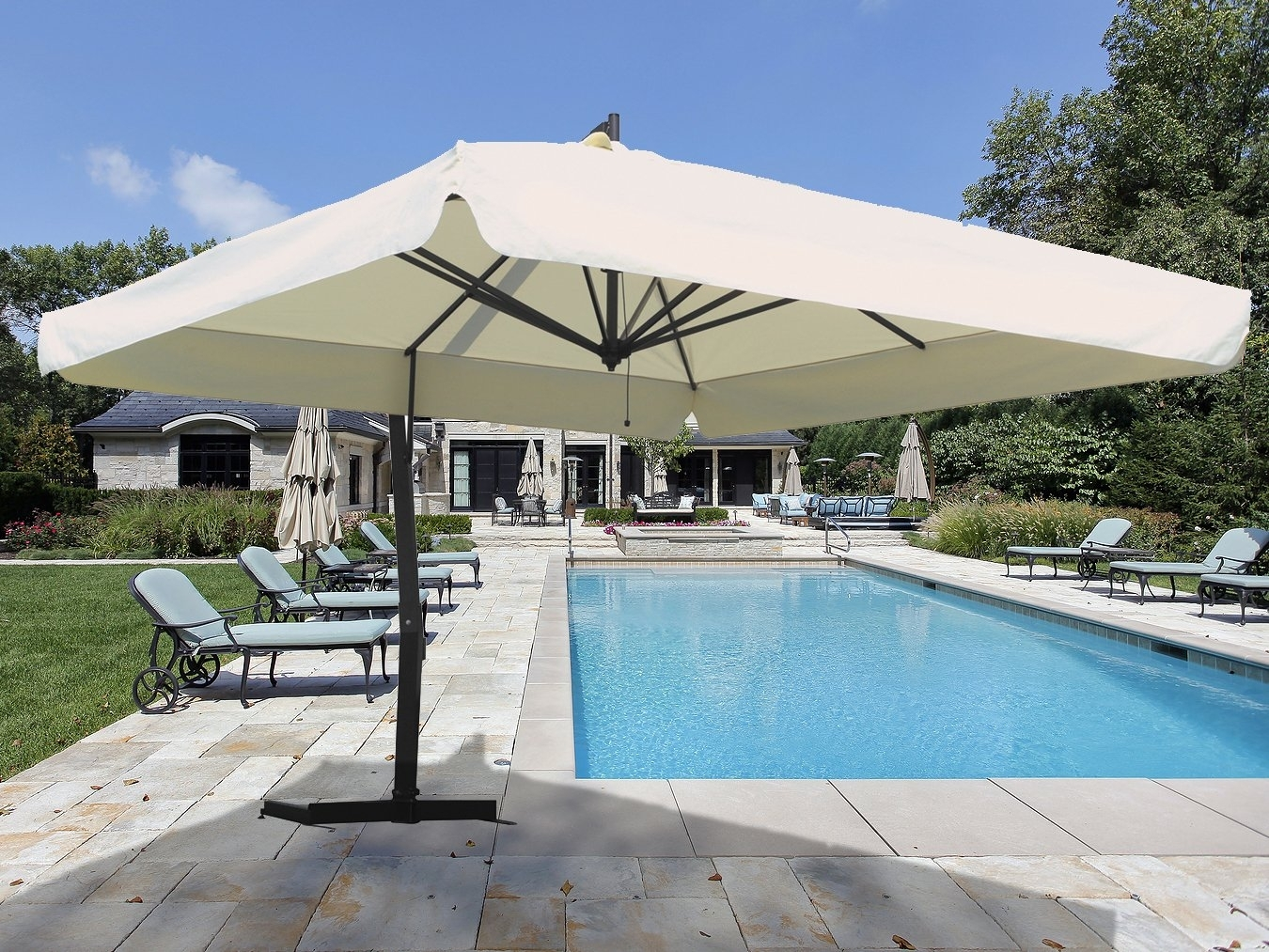 Image of: Patio Patio Unbrellas Commercial Patio Umbrellas Wholesale Patio In Commercial Outdoor Pool Furniture Good Commercial Outdoor Pool Furniture