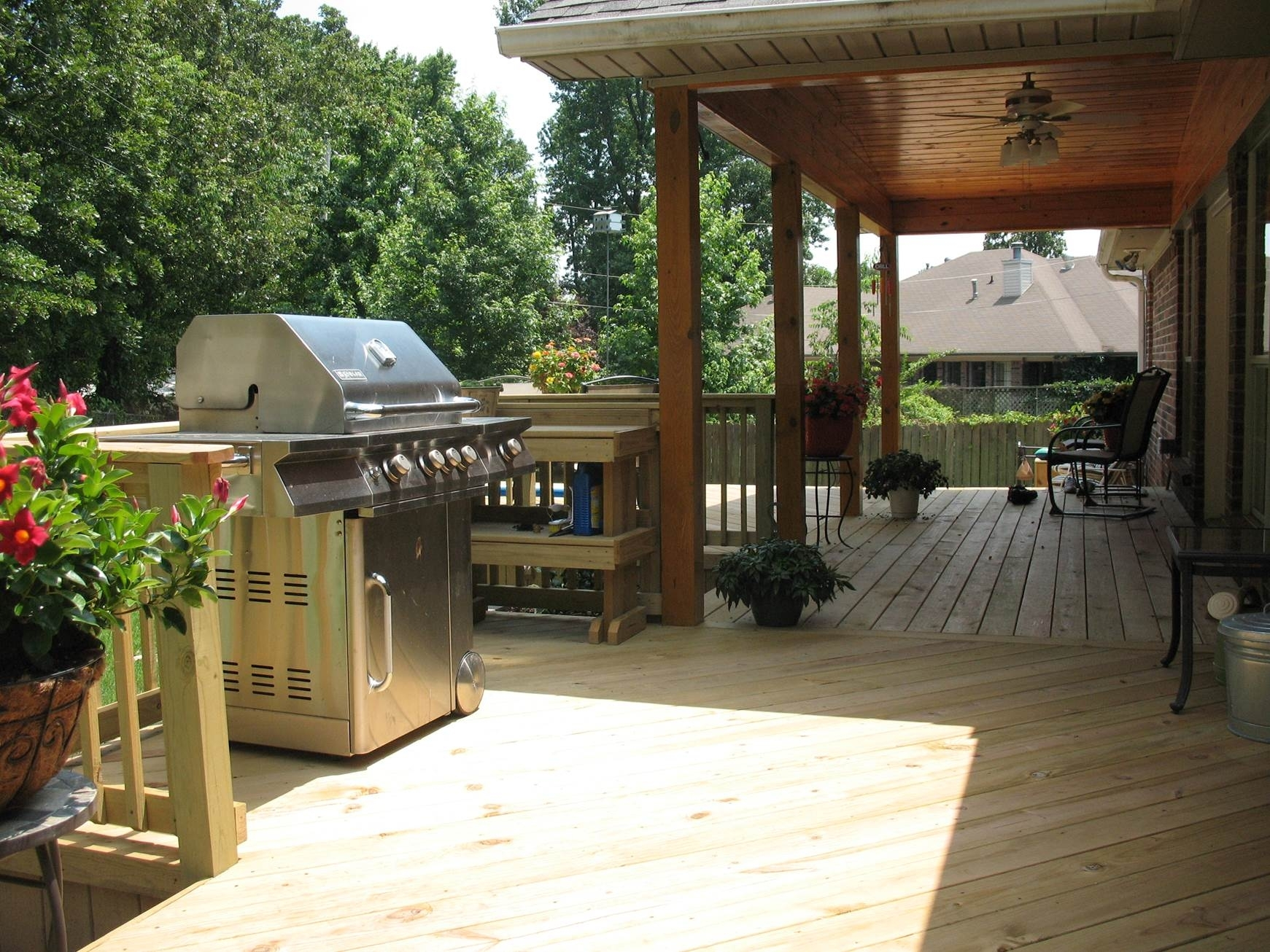 Image of: St Louis Mo Grill Decks Vs Outdoor Kitchens Archadeck St Within Outdoor Deck Kitchens Outdoor Deck Kitchens Perfect For All Family