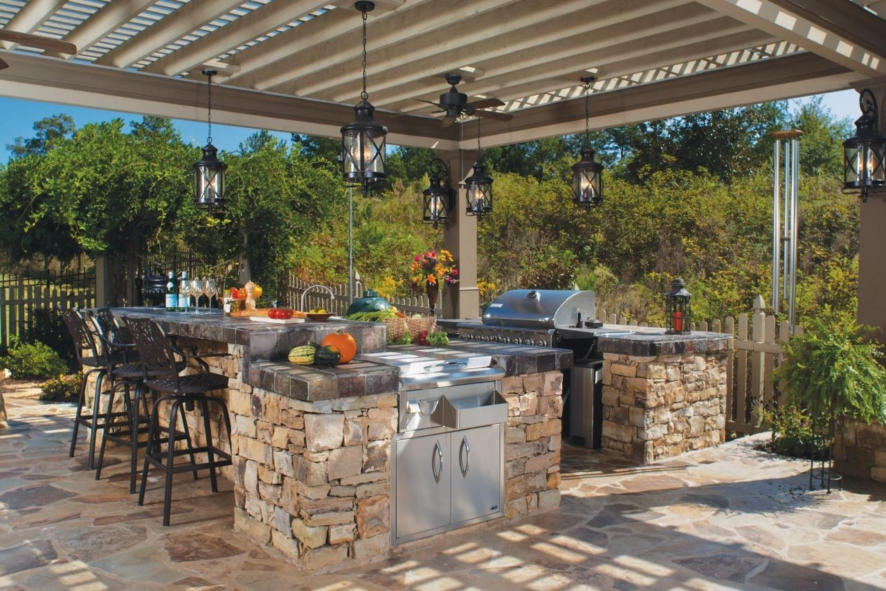 Image of: Tips For An Outdoor Kitchen Diy With Outdoor Deck Kitchens Outdoor Deck Kitchens Perfect For All Family