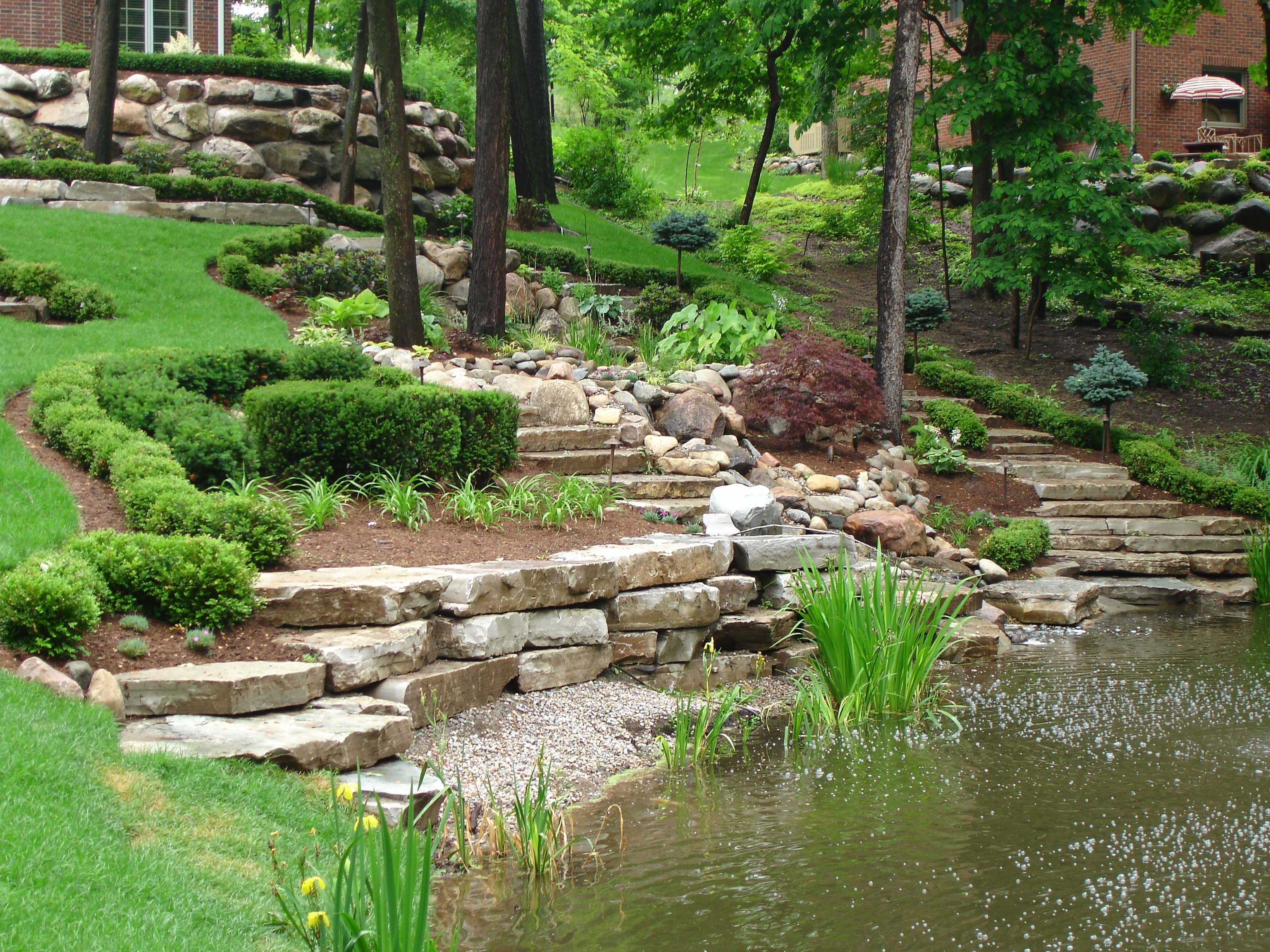 Image of: 106 Best Outdoor Ideas New House Images On Pinterest Pertaining To Drainage Ditch Landscaping Ideas Natural Drainage Ditch Landscaping Ideas