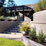 24 Concrete For Attractive Garden With Landscape Retaining Wall