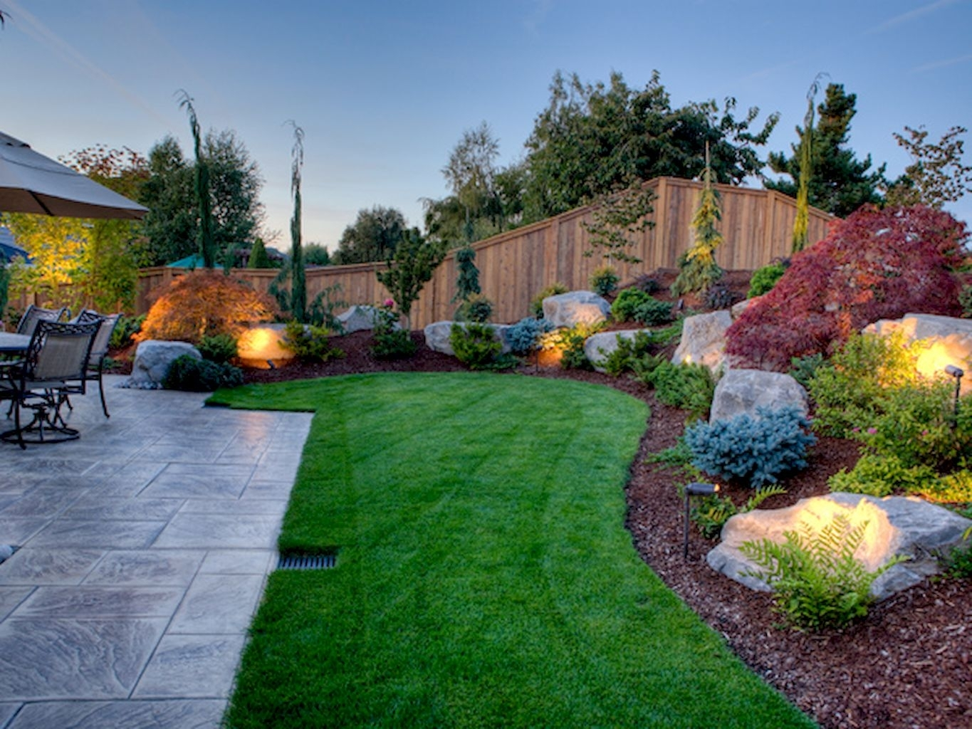 Image of: 40 Beautiful Front Yard Landscaping Ideas Yard Landscaping With Landscaped Yards Decorative Ideas Landscaped Yards