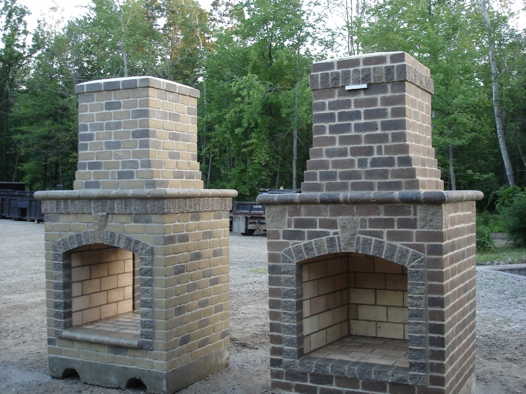 Image of: 48 Contractor Series Outdoor Fireplace Kit Outdoors Pinterest For Masonry Outdoor Fireplace The Right Options For Masonry Outdoor Fireplace