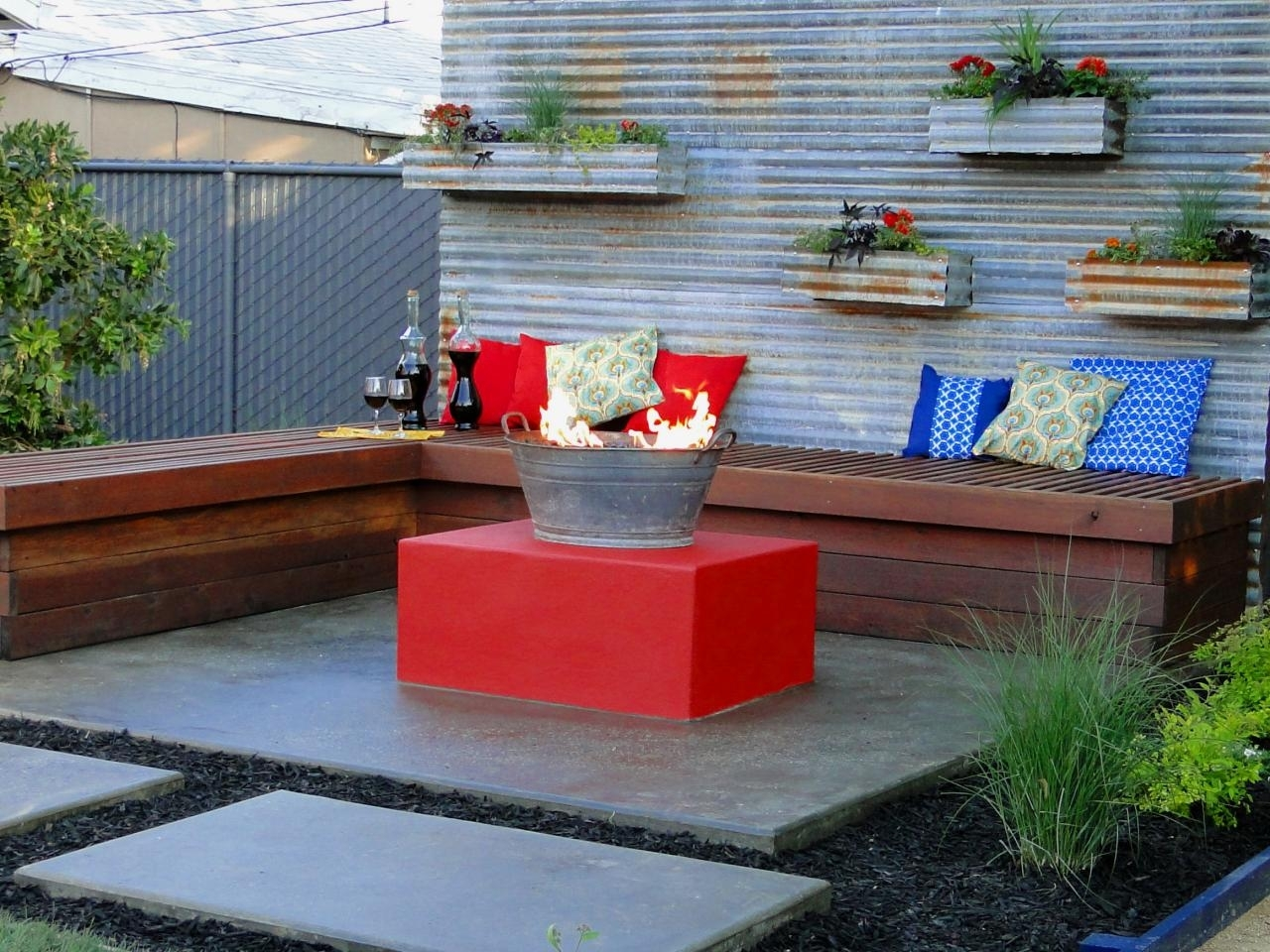 Image of: 66 Fire Pit And Outdoor Fireplace Ideas Diy Network Blog Made With Regard To Inexpensive Outdoor Fireplace Popular Today Inexpensive Outdoor Fireplace